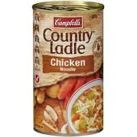 Campbell's Country Ladle Canned Soup Chicken Noodle