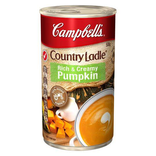 Campbell's Country Ladle Canned Soup Creamy Pumpkin