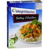 Weight Watchers Satay Chicken Meal
