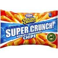 Birds Eye Golden Crunch Chunky Cut Super Crunch Chips