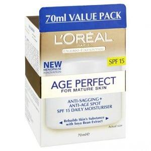 L'oreal Age Perfect Face Cream With Spf15+
