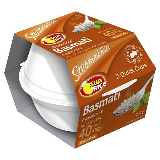 Sunrice Quick Cups Basmati