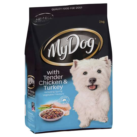 My Dog Adult Dog Food Chicken & Turkey