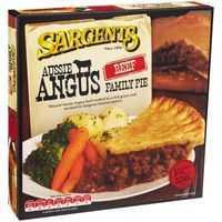 Sargents Premium Pies Angus Beef Family