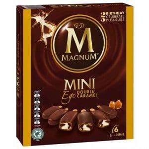 Streets Magnum Mini Ice Cream Ego Caramel
