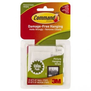 Command Picture Hanging Strips Combo Small And Medium