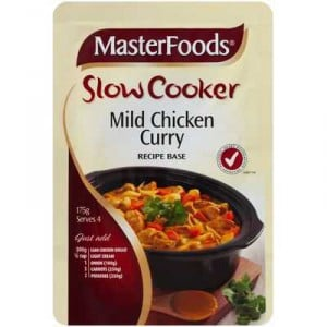 Masterfoods Slow Cooker Mild Chicken Curry