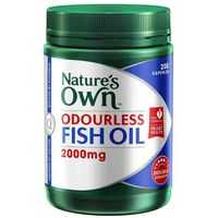 Nature's Own Odourless Fish Oil 2000mg Capsule