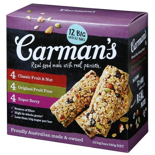 Carman's Traditional Variety Bars