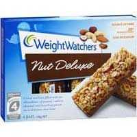 Weight Watchers Nut Delux Bars