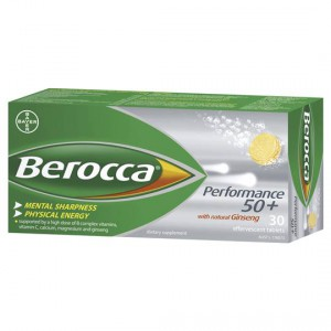 Berocca Focus 50+ Effervescent