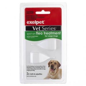 Exelpet Vet Series Treatment Spot On Flea Large Dog