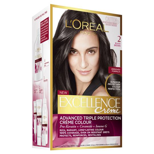L'oreal Excellence Crème 2 Black Brown