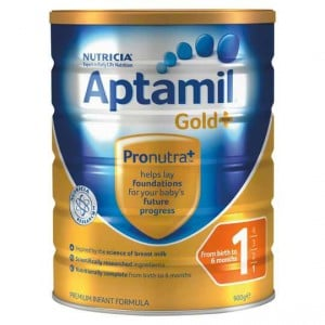 Aptamil Gold+ Baby Formula Stage 1 0-6 Months