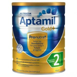 Aptamil Gold+ Follow-on Baby Formula Stage 2 6-12 Months