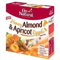 Go Natural Fruit Snacks Honey Almond Apricot Ripple