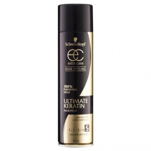 Schwarzkopf Extra Care Hair Spray Ultra Styling Lacquer