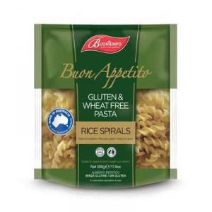 Buontempo Gluten & Wheat Free Pasta Spirals Pasta