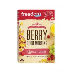 Freedom Foods Cereal Berry Good Morning Cereal