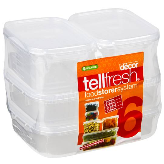Decor Tellfresh Storer Set