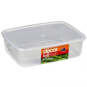 Decor Tellfresh Storer Clear Oblong