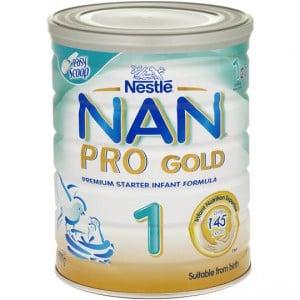 Nestle Nan Pro Gold Baby Formula Stage 1 0-6 Months