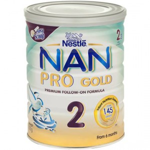 Nestle Nan Pro Gold Follow-on Formula Stage 2 6-12 Months