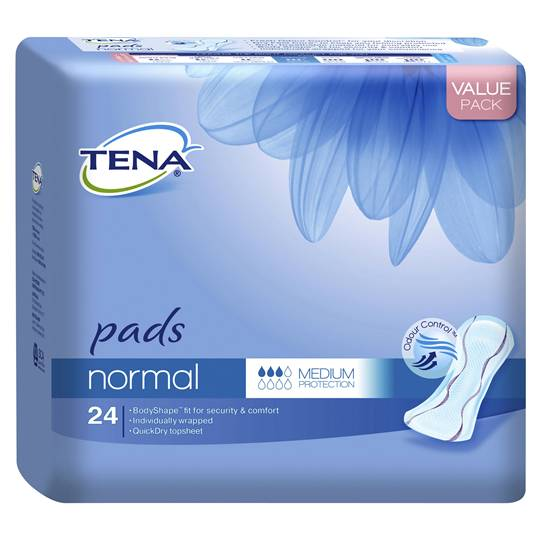 Tena Pads Normal Fresh Odour Control