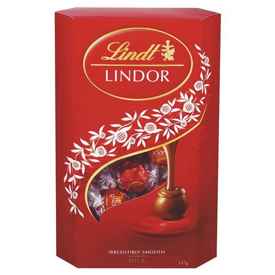 Lindt Lindor Chocolate Balls Cornet Milk