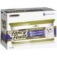 Fancy Feast Adult Cat Food Grill Premium Salmon