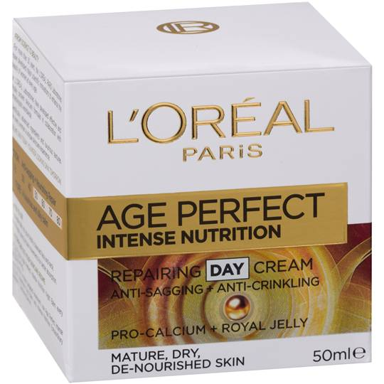 L'oreal Age Perfect Face Cream Day Intense Nutrition