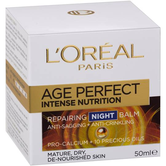 L'oreal Age Perfect Face Cream Intense Nutrition Night Moist