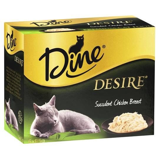 Dine Desire Adult Cat Food Succulent Chicken Breast