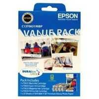 Epson Printer Ink C13t063190bp Ink & Paper