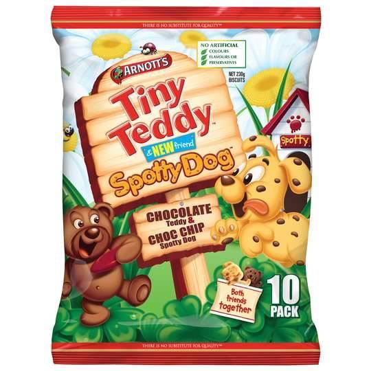 Arnott's Tiny Teddy Spotty Dog