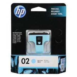Hp Printer Ink 02 Light Cyan