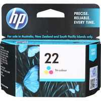 Hp Printer Ink 22 Injet Tri-colour