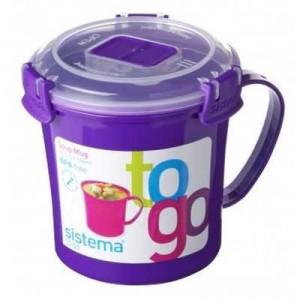 Sistema Plasticware Soup Mug To Go