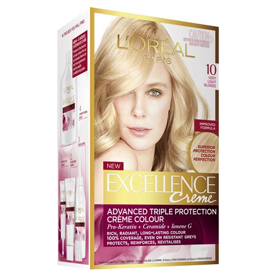 L'oreal Excellence Crème 10 Very Light Blonde