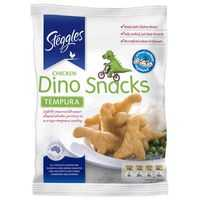AmbieBambi reviewed Steggles Crumbed Chicken Dino Snacks Tempura