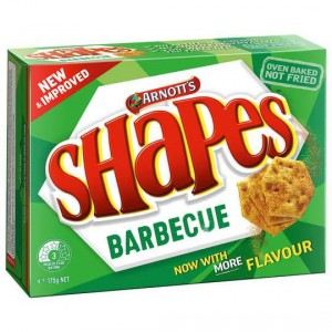 Arnott's Shapes Barbecue