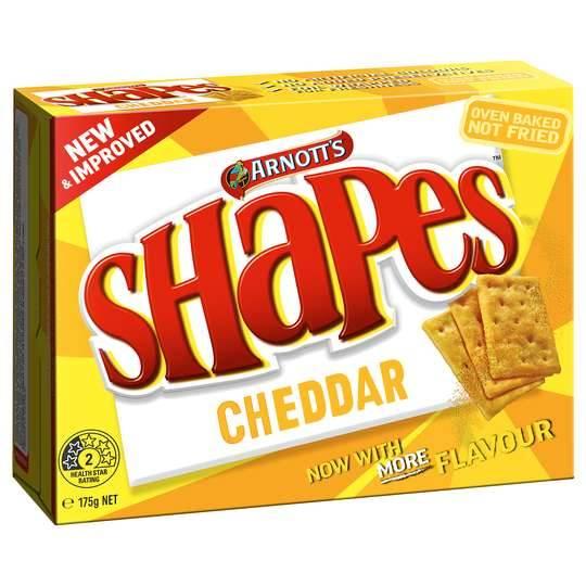 Arnott's Shapes Cheddar