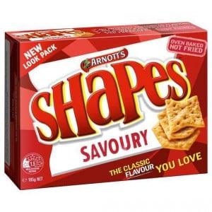 Arnott's Shapes Savoury