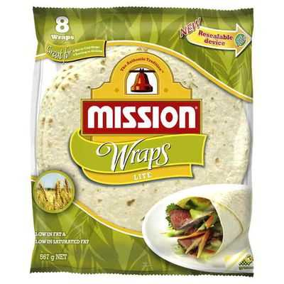 Mission Wraps Light