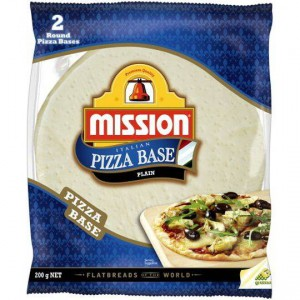 Mission Pizza Bases Round