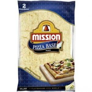 Mission Pizza Bases Plain