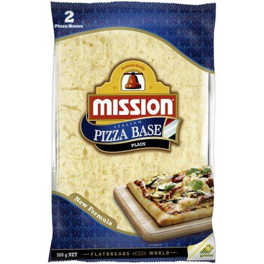 Mission Pizza Bases Plain