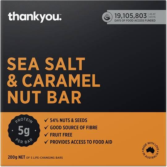 Thank You Nut Bar Caramel Sea Salt