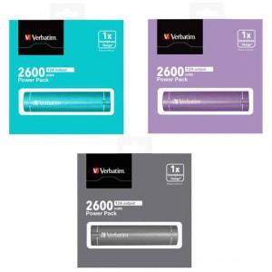 Verbatim Portable Usb 2600mah Power Pack