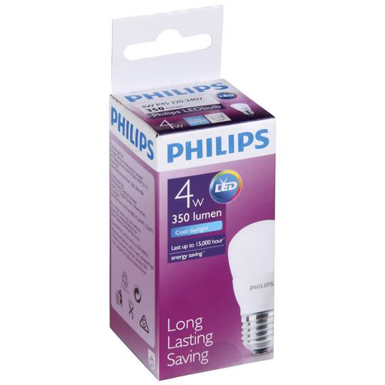 Philips Led 35lm E27 6500k P45